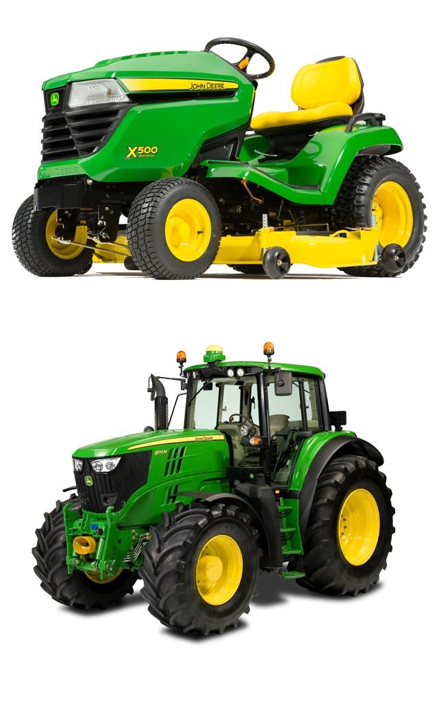 vrtni traktorji John Deere