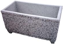 Zunanje betonsko korito za rože