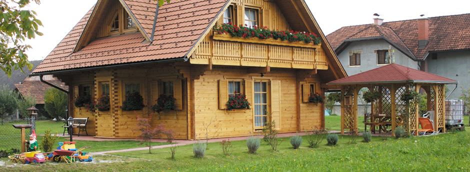 Estetska lesena konstrukcija