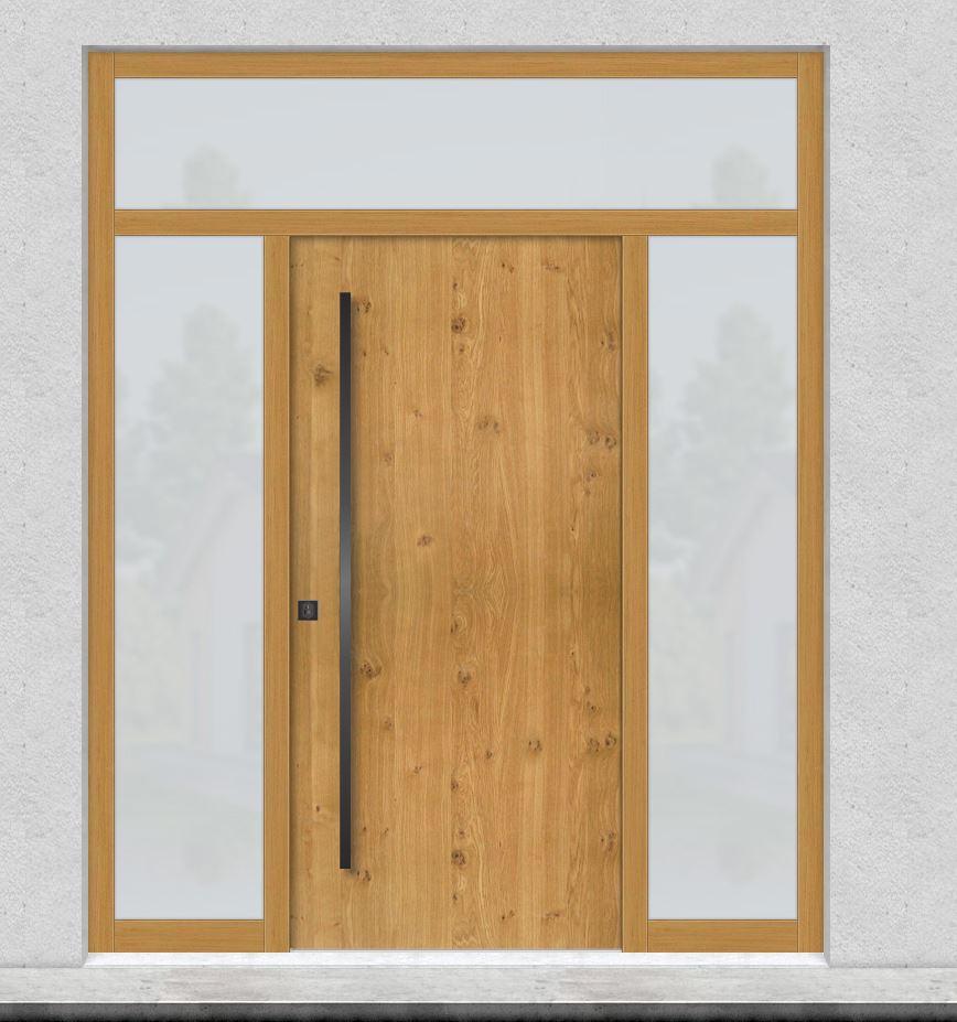 Lesena masivna vrata