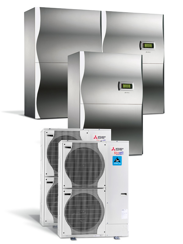 Delovanje toplotne črpalke zrak voda