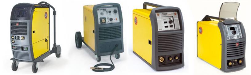 Različni varilni aparati