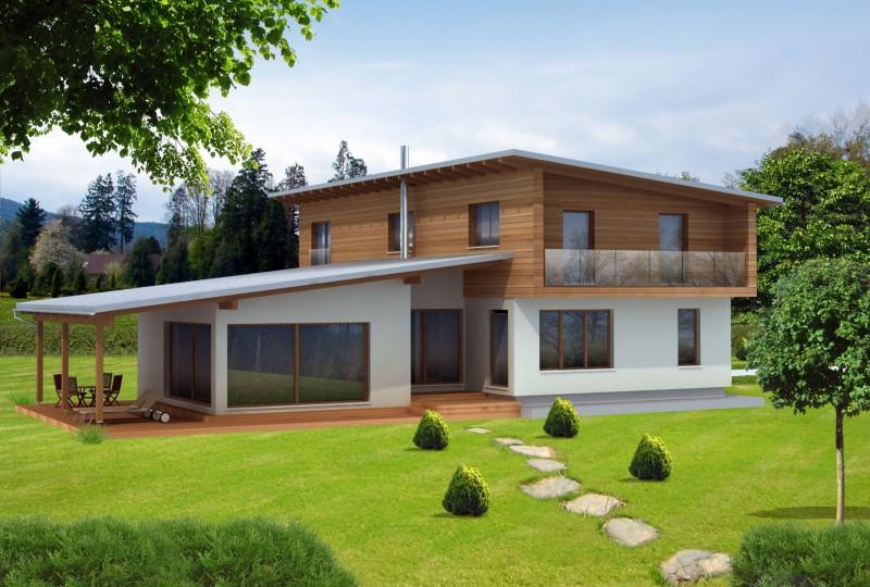 montažna lesena hiša