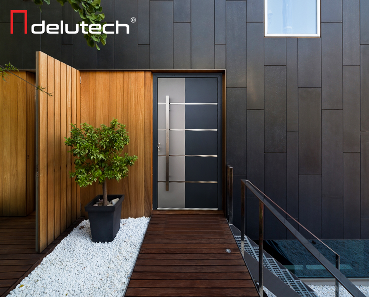 Moderna in elegantna vhodna vrata